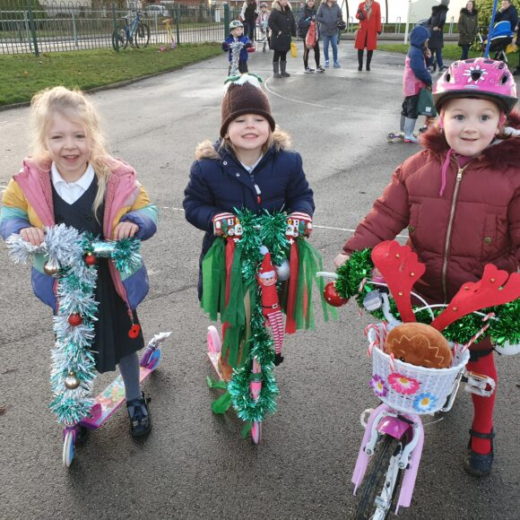 Bling Your Bike/Scooter Day – 4th December 2019