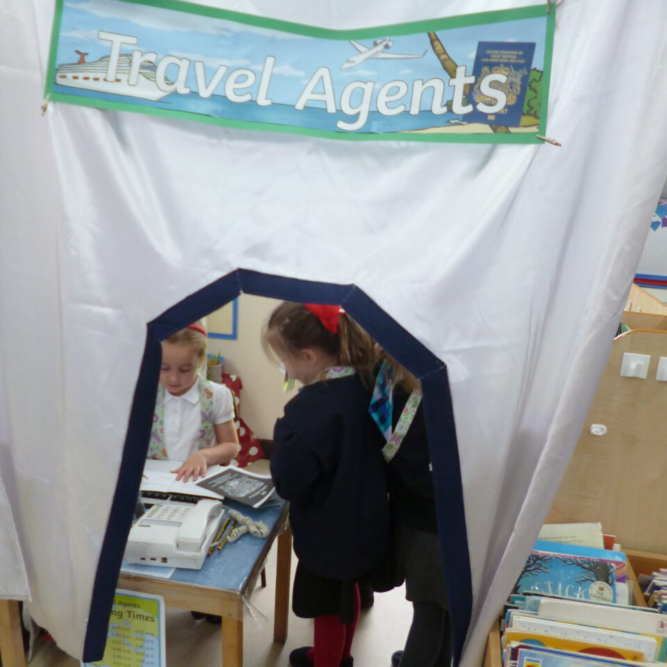 Travel Agent Role Play (Class R)
