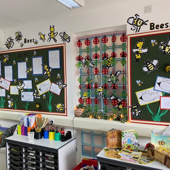 Class 1's Busy Bees