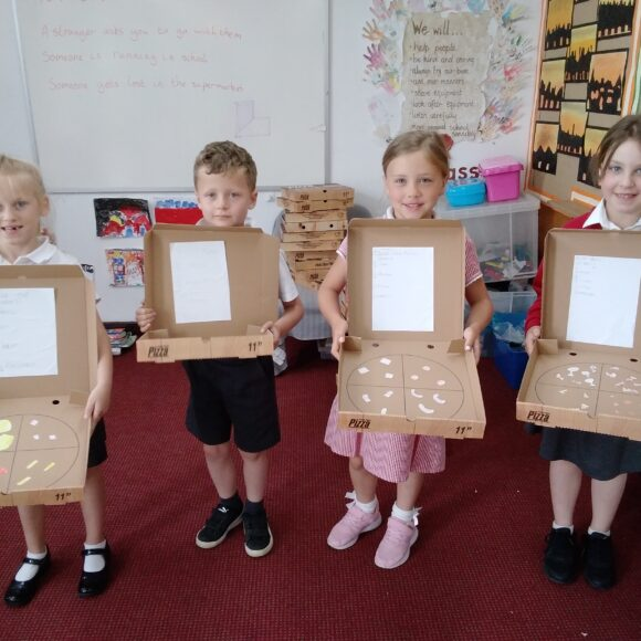 Pizza Fractions! (Class 2)